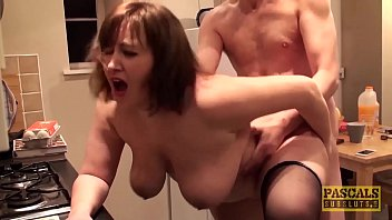 hardfucked plumper fed with doms big cock and porn xx hot cum