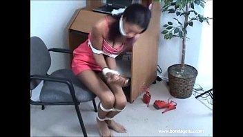 black damsels pooja hegde sex cloth gagged bondage and tied ebony fetish model erika kane