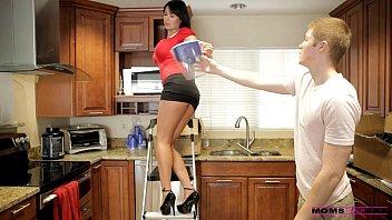 moms teach sex - her boyfriend jizzed on natasha malkova nude her moms tits