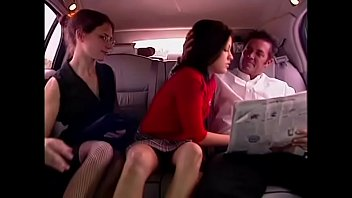 schoolgirl picked up by www pinktube com rich man in limousine and fucked in a hot threesome with his secretary