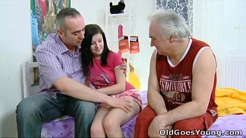 old vedeo xxxx goes young - alena and her man are together in bed