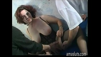 cute ponsex young and busty amateur girl fucked by two