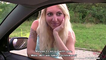 bitch stop - blonde nude muslim women hooker picked up on czech street