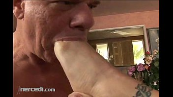 dog and sexy video foot worship and toe sucking blonde fetish mature