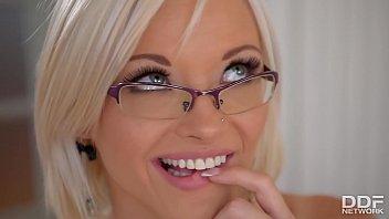 horny blonde secretary zazie skymm fucks a dildo fucking nurse in the office