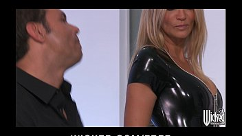 jessica drake strips out of her latex lxxlxx outfit before anal