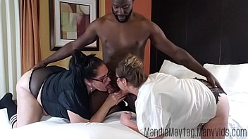 cums com big dicked texan brings the meat for a thick girl threesome feat. luscious lilli.