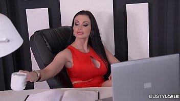 khloe terae nude busty secretary aletta ocean gets titty fucked and creamed