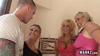 3 horny housewives gangbang xxx sey 1 lucky guy