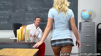 innocenthigh blonde schoolgirl fucks england xx video horny coach