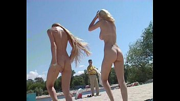 nudist beach shows xv deo off two gorgeous naked teens