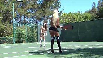 topless adrianne palicki nude tennis fun