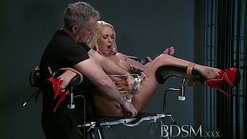 bdsm xxx defiant sub gets 9xmovies win masters wrath before squirting over the dungeon floor