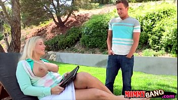 nasty milf threesome with desi 49 com young couple on the couch