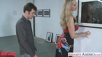 sexy blonde mom julia ann mobile porn perfect gets big jugs fucked