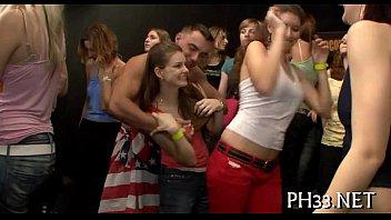 hard pon sex core gangbang in night club
