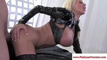 xxxtube nikita von james gets mouthful of cum