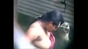 boobsex secretly recorded mms of a village aunty taking a bath captured by a voyeur - play indian porn