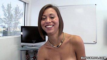super cute latina comes in www hot saxy video for casting call