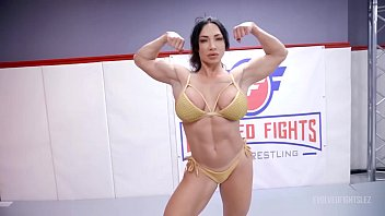 london river fighting hot models topless brandi mae in lesbian wrestling with face sitting and a hard strapon fuck