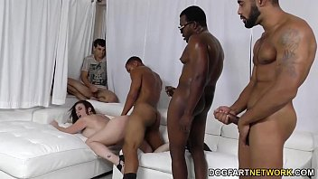 sara jay gets ganbanged by black dudes in anna marisax nude front of her son