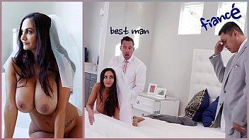 bangbros - uselessjunk con big tits milf bride ava addams fucks the best man