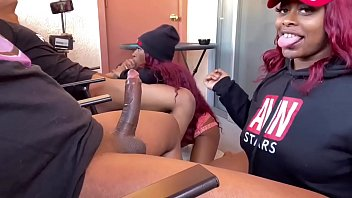 double blowjob double blunts sexevideo thejuicyexperience and mini stallion