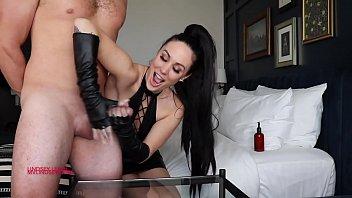 sexxy video slave gets handjob