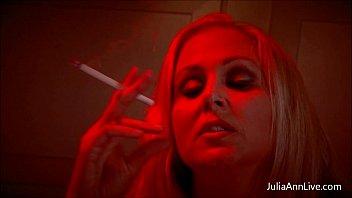 busty blonde milf julia ann gives poen com smoking bj