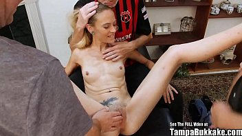 thin blonde tiny tits slut bukkake karma rx the prodigal slut returns sperm gang bang