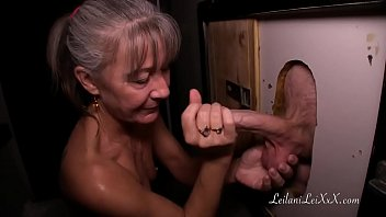 milf beby sex video visits glory hole for first time