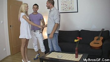 lxxlxx brother seduces his girl as he leaves