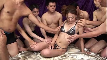 sakura hirota enjoys sex pornd being the centerpiece in this raunchy orgy
