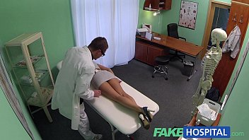 fakehospital sales rep sxxxxx caught on camera using pussy
