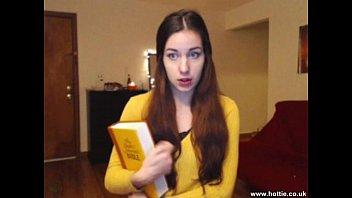 church xxxy video girl turns webcam pornstar