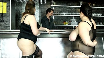 strapon male sextube com domination performed by 2 bbw dominas