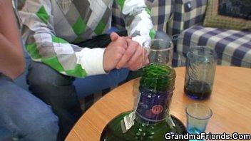 partying guys pound grandma from xxxsunny leone com both ends