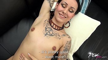 dirty whore and her first camera audition www 420wap net goes really wild