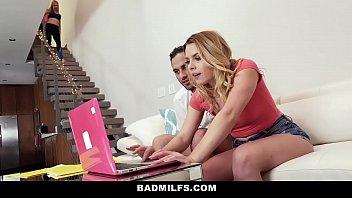 badmilfs - seduced by boyfriends short hot sex videos sexy stepmom sarah vandella