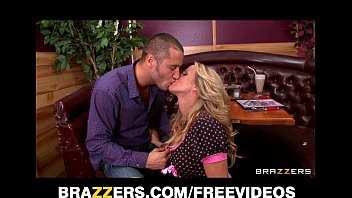 romantic sexy video sexy blonde waitress seduces her customer away from his date
