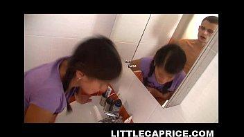 little caprice enjoys sexy busty wife com bathroom sex