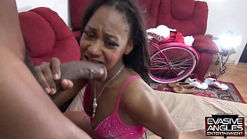 evasive angles adorable black babe xxuxx lexi a mor takes two big dicks in her mouth and pussy