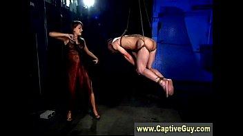 desi lady com captive femdom guy tased