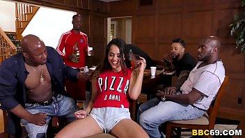 pizza and anal - esperanza china xxx del horno