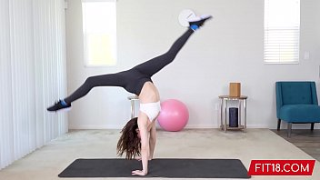 fit18 - aliya brynn - 50kg - casting x vedioe flexible and horny petite dancer