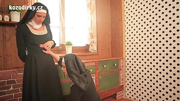 two sexy catholic nuns praying togather in hot sex pic the lesbian touch
