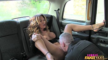 female fake taxi sexy driver loves nude cosplay a hard cock