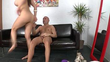 real chica babe xxxsexporn rides on a hard cock