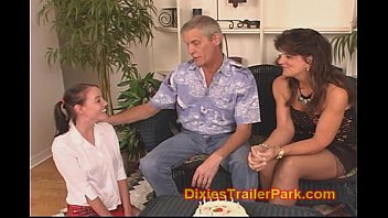 b. sitter gets a boy undressing girl 18th birthday swinger surprise party