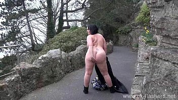 crazy sarahs public nudity and sexy mum flashing nacked girls outdoors with chubby english am